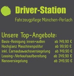 Autopflege Driver-Station München Perlach - Top-Angebote