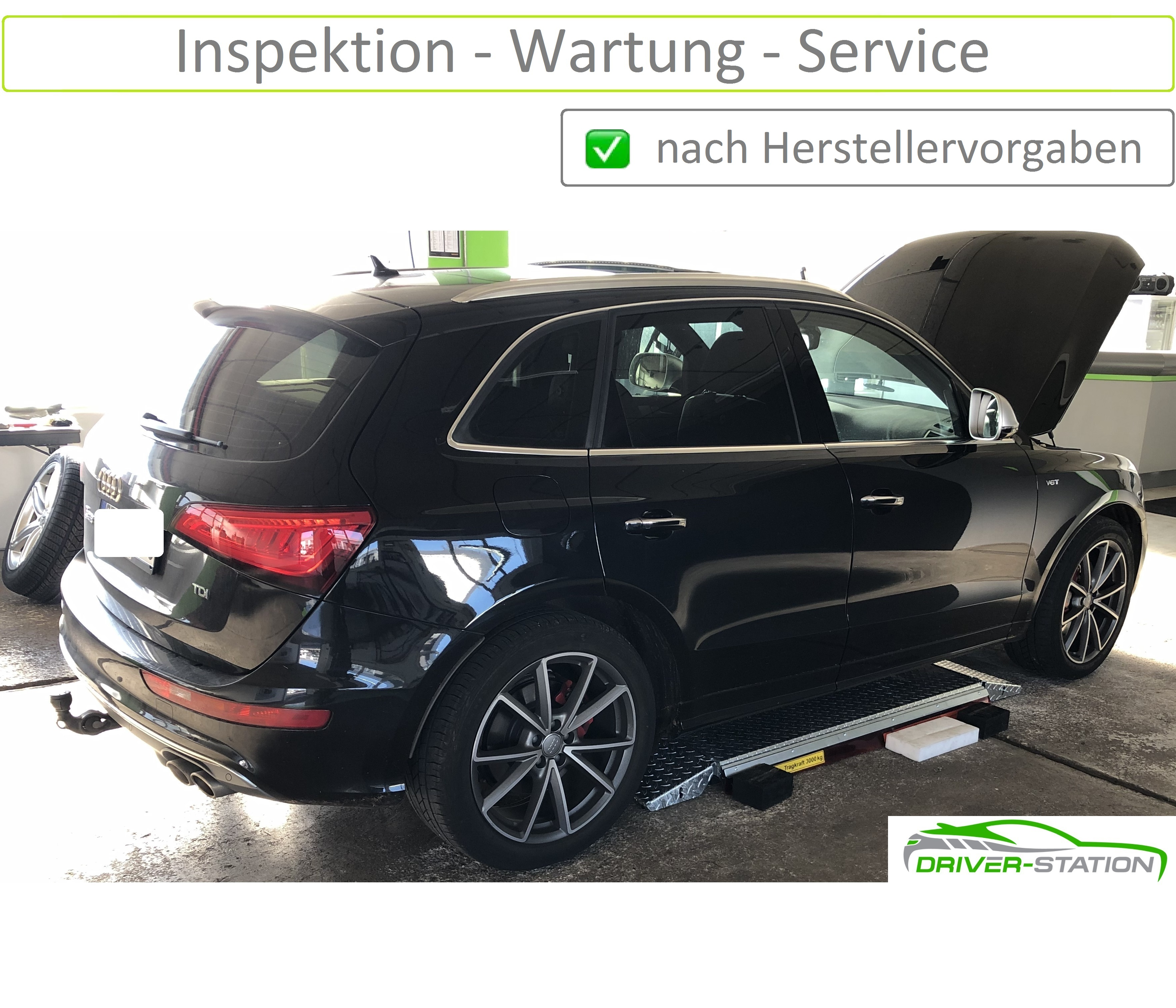 Inspektion Wartung Service Autowerkstatt Driver-Station Starnberg