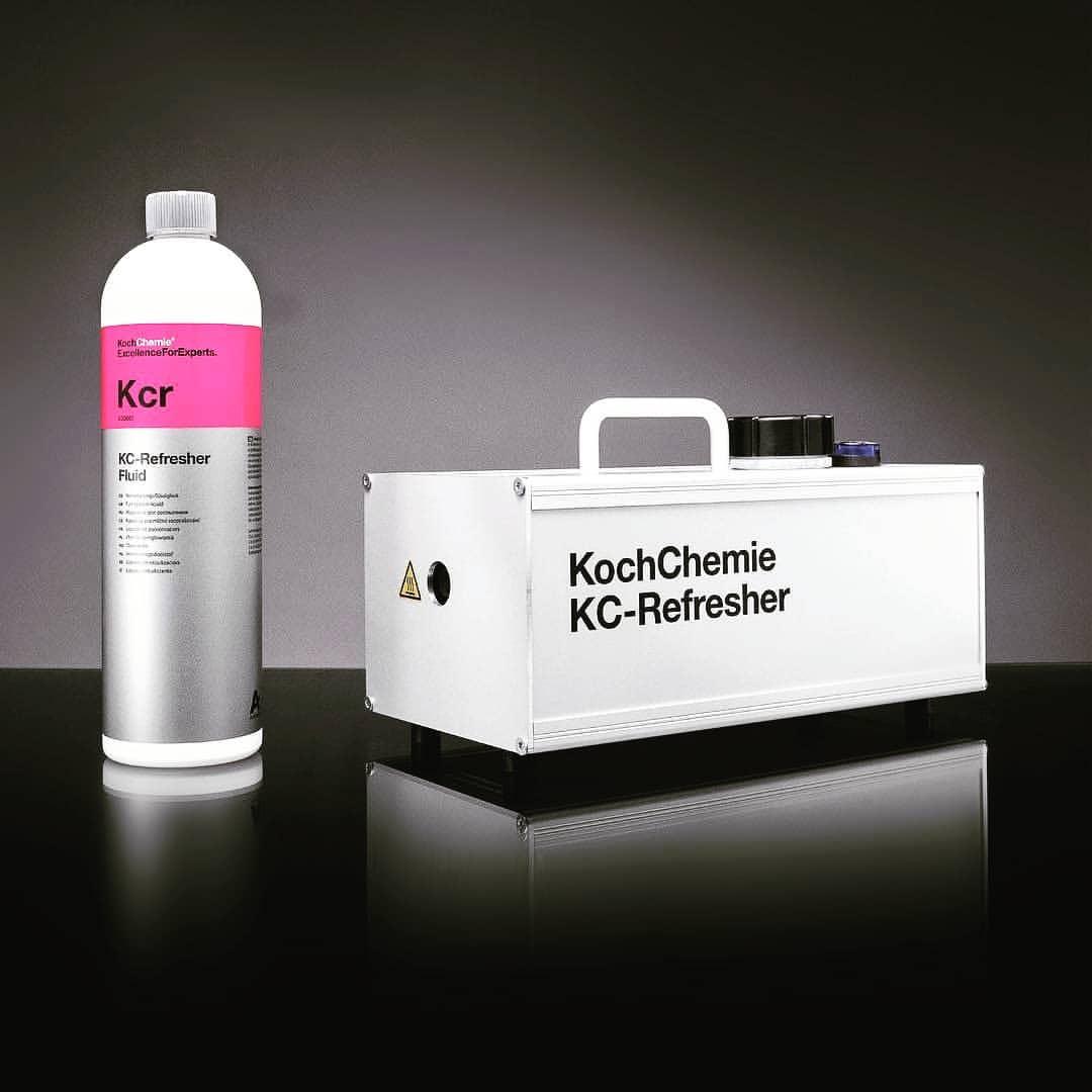 KC-Refresher Geruchsbeseitigung Ozonbehandlung Driver-Station Autowerkstatt Autopflege Starnberg München