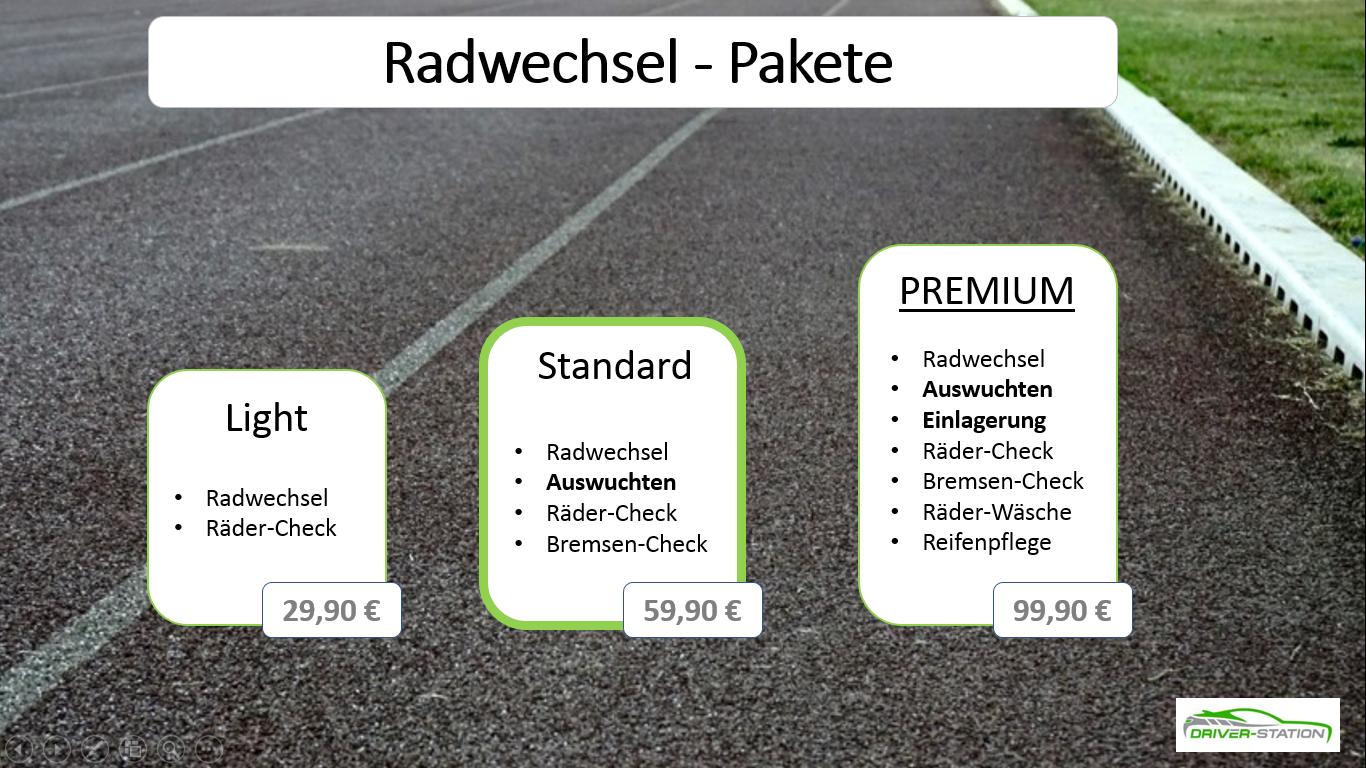 Reifenwechsel Autowerkstatt Driver-Station Starnberg