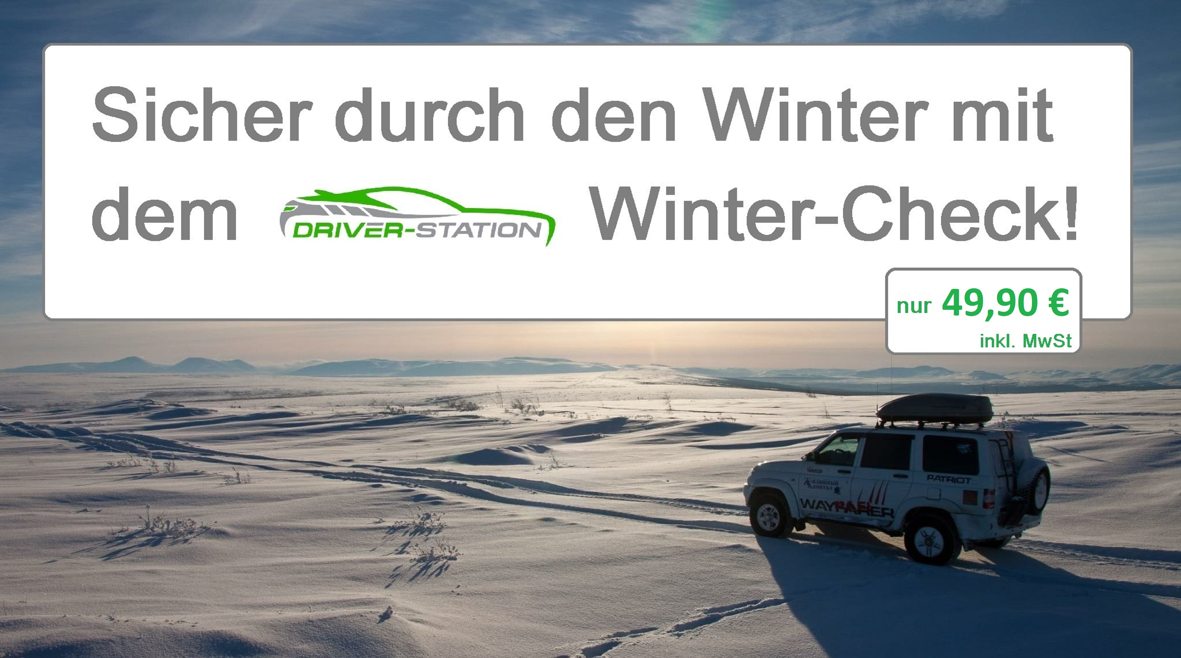 Winter Check Driver-Station